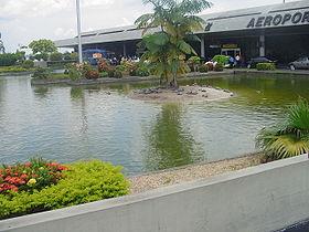 Aeroporto Internacional Eduardo Gomes.
