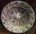 Manises, piatto con lustro metallico, 1550-1600 ca..JPG