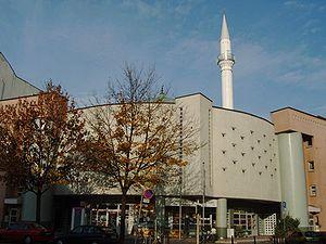 Turkish-Islamic Union for Religious Affairs - Yavuz-Sultan-Selim-Mosque in Mannheim