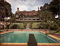 Mansion viewed from swimming pool in Sarasota, Florida.jpg