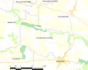 Map commune FR insee code 29070.png