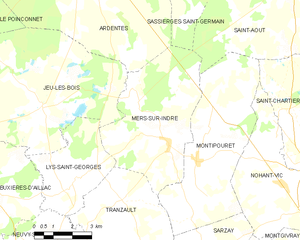 Map commune FR insee code 36120.png