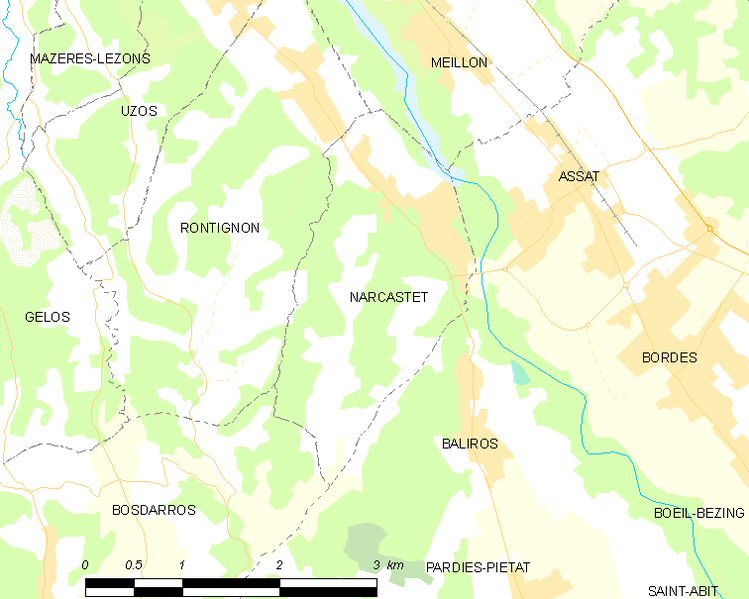 Fil:Map commune FR insee code 64413.png