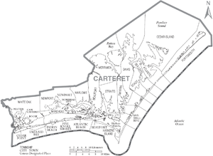Image Result For Map Ocean County