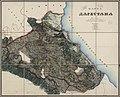 Map of Dagestan 1841 (Aukh and Salatavia outside the borders).jpg