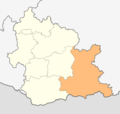 Map of Krumovgrad municipality (Kardzhali Province).png