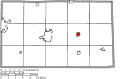 Location of Republic in Seneca County