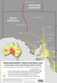 Map of population density, South Australia and southern Northern Territory (2018) with railway lines to Alice Springs overlaid.png