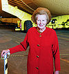 Thatcher at the Kennedy Space Center in February, 2001