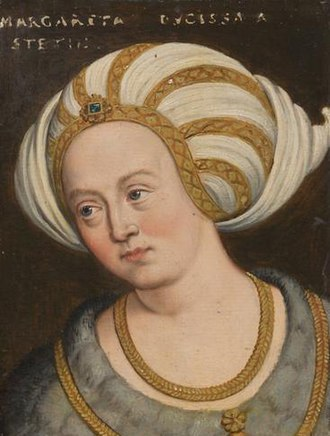 Ernest, Duke of Austria - Margaret of Pomerania by Anton Boys