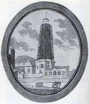 Windmill - Hooper's Mill, Margate, Kent, an eighteenth-century European horizontal windmill.