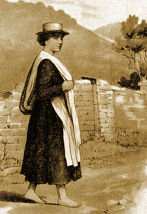 Mary Jones and her Bible - Image: Mari Jones