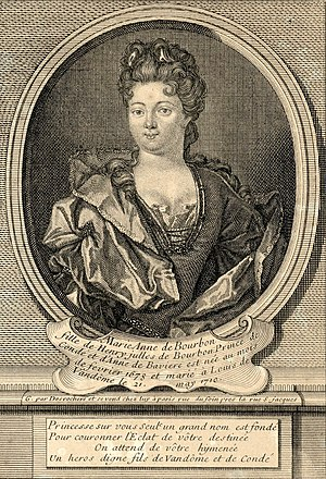 Marie Anne de Bourbon, Duchess of Vendôme - Image: Marie Anne de Bourbon, Duchess of Vendôme