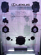 The Lexus Mark Levinson Reference Surround Sound System.