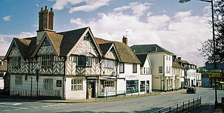 Southam town in Warwickshire, United Kingdom