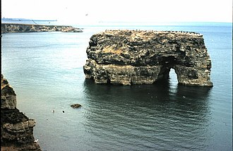 Marsden Rock - Image: Marsden Rock (1974) geograph.org.uk 852738