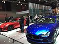 Maserati Ghibli-GranTurismo Mondial de l'Automobile de Paris 2014.JPG