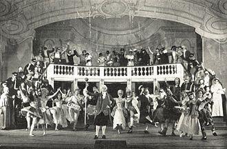 Maskarade - Maskarade at the Jyske Opera in Aarhus (1954)