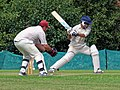 Matching Green CC v. Bishop's Stortford CC at Matching Green, Essex, England 28.jpg