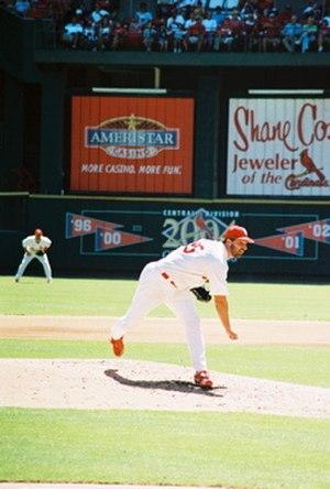 Matt Morris (baseball) - Morris with the St. Louis Cardinals
