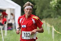Matthias Kyburz ved junior-VM i orientering 2010.