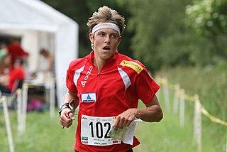 Matthias Kyburz Swiss orienteer
