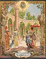 Maurice Leloir - le Roy Soleil - Louis XIV visitant les travaux de Versailles.jpg