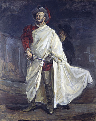 Don Giovanni - Portrait of Francisco D'Andrade in the title role by Max Slevogt, 1912