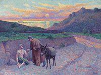 Le bon samaritain (El buen samaritano), 1896