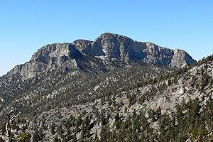 McFarland Peak - Image: Mc Farland Peak 2