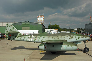 General Electric CJ610 - Messerschmitt Me 262A-1c reproduction, powered with a pair of CJ610 turbojets