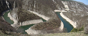 Meander - Uvac canyon meander, Serbia