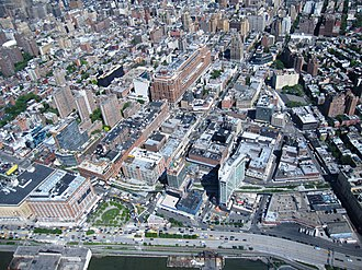 Meatpacking District, Manhattan - Aerial view