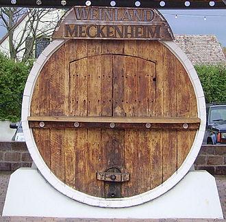 Meckenheim, Rhineland-Palatinate - Village square
