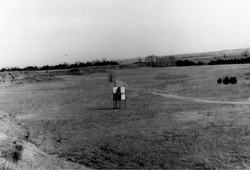 Natural amphitheater at the Medicine Lodge Peace Treaty Site (1969)