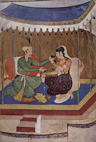 Indian painting - A 17th-century Mughal painting
