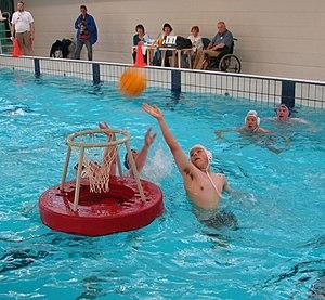 Water basketball - Match of water basketball