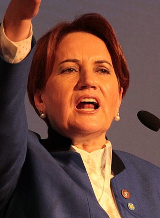 2018 Turkish parliamentary election - Image: Meral Akşener İYİ Party 1 (cropped)