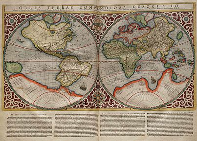 Rumold Mercator map of the world