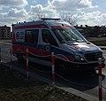 Mercedes Sprinter, jedna z karetek tomaszowskiego pogotowia. Tomaszów Mazowiecki, województwo łódzkie, PL, EU, CC0.jpg