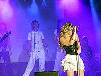 Mercedes Trujillo Callealta podczas koncertu.