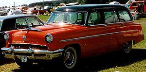 Mercury Monterey - 1953 Mercury Monterey station wagon