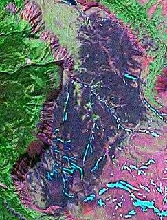 Mess Lake Lava Field