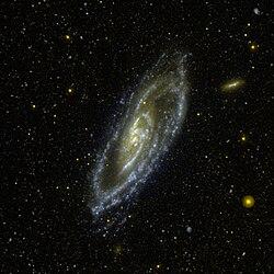 Messier 106 GALEX WikiSky.jpg