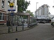 Ingang metrostation Dijkzigt