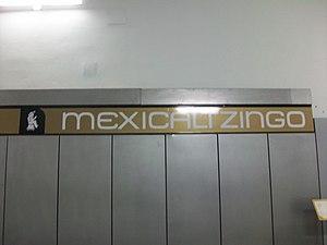 Metro Mexicaltzingo - Image: Metro Mexicaltzingo 02