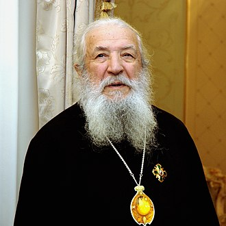 Laurus Škurla - Metropolitan Laurus in the residence of Patriarch of Moscow and All Russia in Peredelkino (Moscow), February 28, 2008.