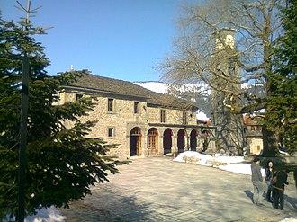 Metsovo - The church of Agia Paraskevi