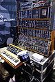 Michael Boddicker Modular System - Moog System 55 (1976), minimoog (1975), Moog Bode Vocoder (1979), Formula Sound Multiple Resonance Filter Array (1979), with Moog Percussion Controller model 1130 (portrait) - 2015 NAMM Show.jpg