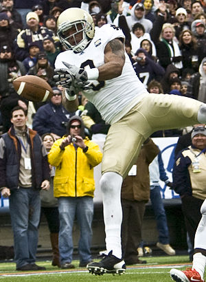 Michael Floyd - Floyd playing for Notre Dame